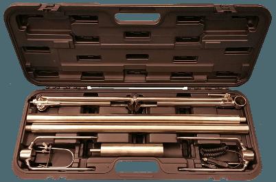 Inox ražanj u koferu